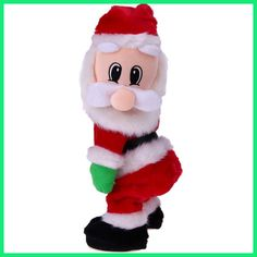 Christmas Electric Twerk Santa Claus Toy Music Dancing Doll Xmas navidad Christmas Gifts Toys Christmas Decorations for home
