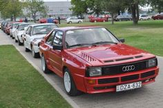 Report and photos from the 2011 International Audi Sport Quattro Club Meeting, held September 23 in Gyor, Hungary. Includes photo gallery of Sport Quattros. Audi 2017, Audi A8, Audi Quattro, Cool Car Wallpapers Hd, Fiat 124 Spider, Audi Sport, Rally Car, Muscle Cars, Cool Cars