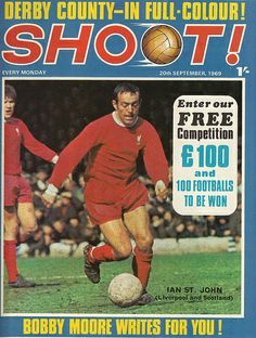 #IanStJohn #Liverpool #Shoot! 1969-09-20