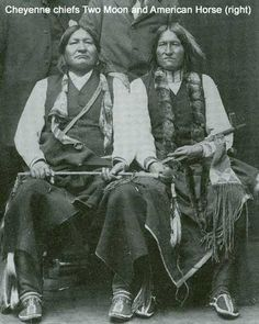 Two Moon, American Horse - Northern Cheyenne - no date