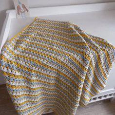 Gehaakt jongens deken