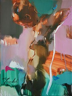 Love the color blocking - minimal/abstract feel #FigureDrawing #Painting