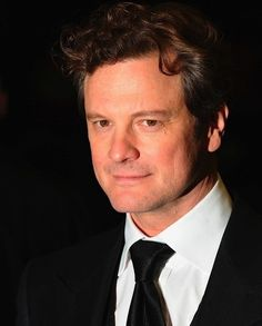 Colin Firth - So class, So British, So everything. J'adore.                                                                                                                                                                                 Plus
