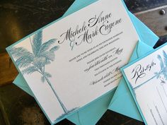 Turquoise Palm Tree  Destination  Beach  Island Wedding by citlali
