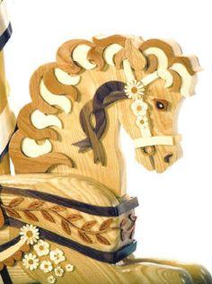 close up of wildflower rocking horse plans Rocking Horse Plans, Wood Rocking Horse, Wooden Horse, Childrens Rocking Horse, Cs Lewis, Narnia, Woodworking Plans, Woodworking Projects, Woodworking Chisels