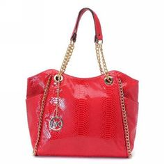 If you have a good mood today, then take this red handbag. It will help you to tell people you are in good mood and also can transmit your happiness to others: http://www.clearancemk.com/2013-michael-michael-kors-chain-tote-red-p-5238.html