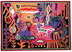Image result for huichol yarn painting Yarn Painting, Painting & Drawing, Stained Glass Art, Drawings, Cards, Image, Mexican Art, Art Paintings, Idea Paint