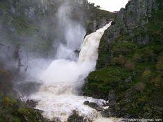 Cascada Pozo de los humos Arribes del Duero Fuente: ruralmanjolinos.com