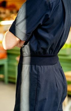 TAUKO x Hanna G jumpsuit coal black Sustainable Design, Jumpsuit, How To Wear, Black, Style, Fashion, Overalls, Swag, Moda