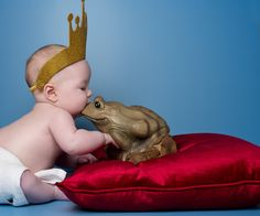 The Frog Prince | These Famous Books Recreated By Babies Are Incredibly Sweet