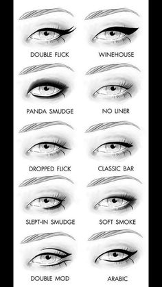 Eyeliner is a special ingredient to spice up your makeup. You cannot get a neat and catchy look without applying the eyeliner with professional efficiency. Eye Makeup Tips, Makeup Hacks, Love Makeup, Skin Makeup, Eyeliner Ideas, Eyeliner Tutorial, Eyeliner Makeup, Makeup Ideas, Eyeliner Designs