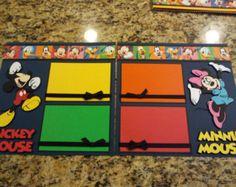 Disney Pluto Scrapbook Premade Layout 2 by DiDisScrapbookDesign