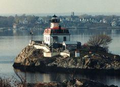 Pomham Rocks Lighthouse, East Providence, Rhode Island