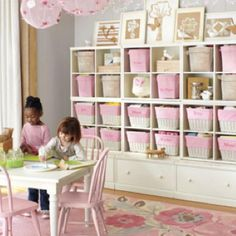 An organized play room, yes please