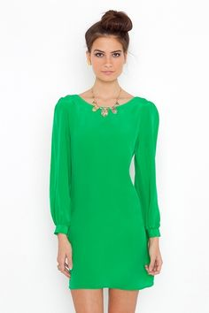 Emerald green is my new fave color!