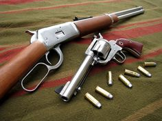 A Colt and a Winchester - part of the wild west legacy