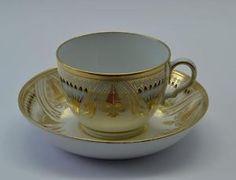 Superb-19thC-Spode-Tea-Cup-Saucer-C1805-10