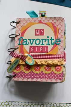 This and that with a little inbetween...: My Favorite Girl mini album