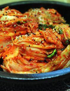 김장김치 실패없이 담그는법, 김장김치10포기양념 Kimchi, Ratatouille, Meat, Cooking, Ethnic Recipes, Food, Kitchen, Essen, Meals