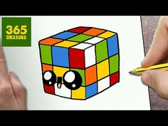 COMMENT DESSINER PILON KAWAII ÉTAPE PAR ÉTAPE – Dessins kawaii facile - YouTube