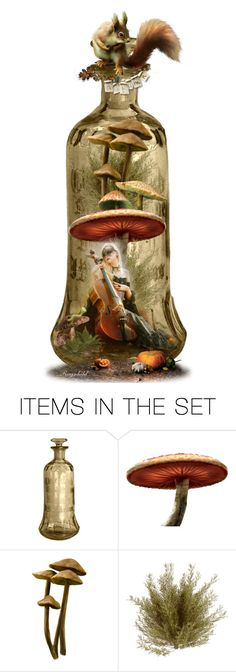 """""""Bottle Bookmark"""" by ragnh-mjos ❤ liked on Polyvore featuring art, autumn, bookmark, bottle and artset"""