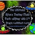 The Ultimate Space Themed Math Center Pack: Common Core Al