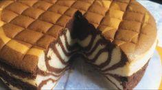 ZEBRA OGURA CAKE recipe | Bánh bông lan OGURA NGỰA VẰN | MintaKitchen