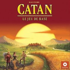 This Settlers of Catan Board Game Edition Game by Mayfair Games is the original strategy board game. Settlers Of Catan, The Settlers, Family Board Games, Fun Board Games, Catan Board Game, Building Games, Typing Games, Strategy Games, Adult Games