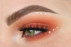 Pink & Orange Blown Out Eyeshadow