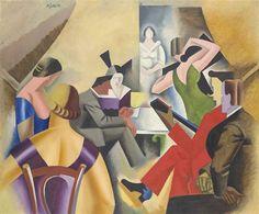 André Lhote, La danse au bar (Gypsy Bar)