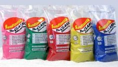 Sandtastik 1 Lb Bag - Emerald Green Colored Sand by Sandtastik. $12.00. Sandtastik Colored Sand is non-toxic. Contains NO free silica or NO free quartz. Making it safe sand for kids.. Flexible and easy mould. Sandtastik Colored Sand is ideal for arts and crafts projects, sand layering crafts, wedding table decorations, a peaceful zen garden, filling your sand table or sandboxand also for a wedding sand ceremony. Sandtastik Colored Sand can be used in a variety of cr...