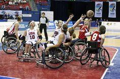 NWBA International Wheelchair Basketball Championships in Huntersville