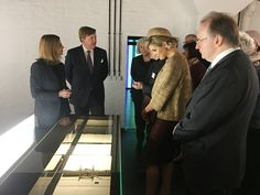 King Willem Alexander and Queen Maxima on the final day of their visit to Germany