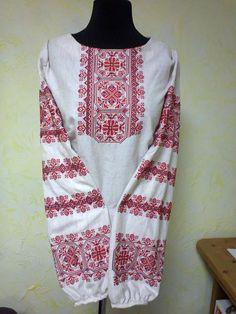 Вышитая женская блузка Закат