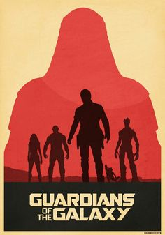 Guardians of the Galaxy Ronan's shadow poster
