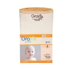 GroVia Prefolds 3pk
