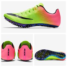 Ly's 2017 track spikes! Adorbs.