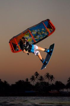 #kiteboarding #style #sunset #session