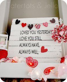 12 idéias para o Dia dos Namorados - *Decoração e Invenção*