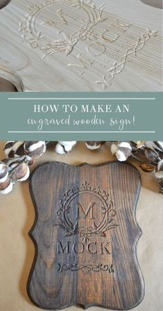 Learn how to make a sign with Dremel! Engraving a homeade wood sign is easy and fun! Perfect for DIY, this project is affordable and budget friendly, looks great in your family room, indoor or outdoor, and adds a beautiful farmhouse style with a rustic décor! #diyproject #diytutorial #diysign #rustic sign Similar ideas: dremel projects | dremel projects with wood | dremel projects for beginners | dremel projects DIY| dremel crafts | how to make a wood sign diy | how to make a wood sign Woodworking Business Ideas, Woodworking Tutorials, Antique Woodworking Tools, Learn Woodworking, Woodworking Furniture, Woodworking Plans, Woodworking Magazines, Woodworking Articles, Woodworking School