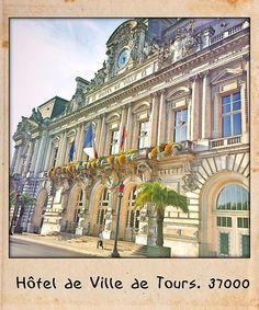 Hotel de ville de Tours. 37000