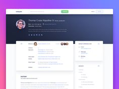 Profile Page - Uplabs Web