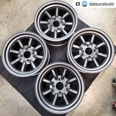 #Repost @datsunzbuild with @get_repost  Xmas came a week early as these showed up today! I was expecting 3-5 months wait period but luckily #rswatanabe had these in stock and they arrived in 1 week. (15x8 0 offset)  It literally took 7 days from Japan to my door in So Cal. That's crazy!  Thanks @datsungarage for hooking me up with a set of #watanabewheels  . #240z #260z #280z #s30 #datsun #datsunz #datsuns30 #datsun240z #datsun260z #datsun280z  #datsunzbuild #dpan #drivetastefully #znation… Datsun 280z, Z Nation, 5 Months, Period, Xmas, Events, Japan, Photos, Instagram