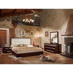 Modrest Ancona Italian Modern Beige Bedroom Set | Bedroom sets ...