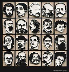 Le Tampographe - The Stampographer — Vallotton : portraits