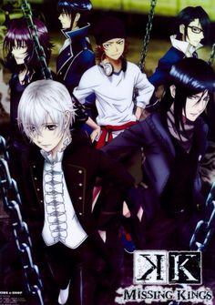 Munakata, Yukari, Kuroh, Shiro, Saruhiko and Misaki. K Missing Kings. (K Project) #anime #movie