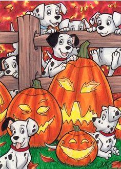 Disney Halloween: 101 Dalmatians