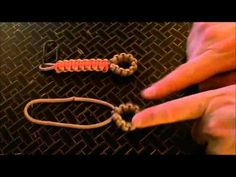 How To: Barnacle Knot / Cobra Stitch Lanyard (Paracord project) - YouTube