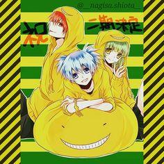 ansatsu kyoushitsu   ... Ansatsu Kyoushitsu club tagged: photo ansatsu kyoushitsu trio cute
