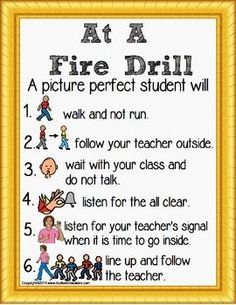 Fire Safety and Prevention: Knowledge is Power! Fire Safety Social Story Rules Poster for Special Education FREE.....and many more